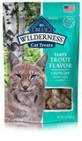 Blue Buffalo Wilderness Cat Treats – Tasty Trout Formula