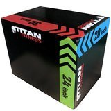 Titan Fitness 3-in-1 Foam Plyometric Box