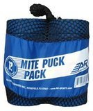 A&R Sports Blue Mite Junior Ice Hockey Pucks, Set of 12