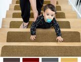 EdenProducts Non-Slip Carpet Stair Treads
