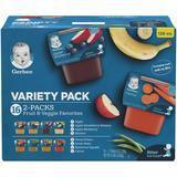 Gerber Purees 2nd Foods Veggie and Fruit Variety Pack