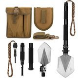 FiveJoy Military Folding Shovel