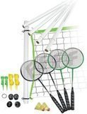 Franklin Spots Badminton Set with 4 Rackets and Net