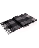 i+k Merino Lambswool Plaid Scarf