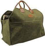 INNO STAGE Heavy Duty Wax Canvas Log Carrier Tote, Large Firewood Bag