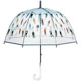 Maad Raining Men Clear Bubble Dome Umbrella