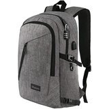 Mancro Business Water Resistant Laptop Backpack