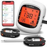 NutriChef Smart Bluetooth BBQ Grill Thermometer