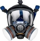 Parcil Distribution PT-100 Full Face Gas Mask & Organic Vapor Respirator