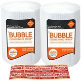 Tenby Living 1' x 30' Bubble Wrap, 2 Rolls