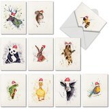The Best Card Company Wildlife Expressions Holiday Cards