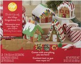 Wilton Build-it-Yourself Mini Village Gingerbread Decorating Kit